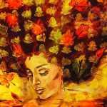التشكيلية إيمان المسلم لـ «أسرتي»: لوحاتي صاخبة في صراحتها