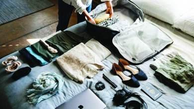 Photo of حقيبة سفرك.. راحة بال بالترتيب والنظام