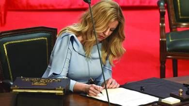 Photo of «زوزانا تشابوتوفا»  أول امرأة تحكم سلوفاكيا