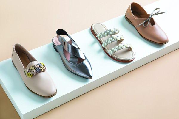 الثنائي شريفة وألطاف Thuna علامة تجارية كويتية للأحذية الراقية