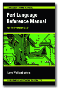 Perl Language Reference Manual