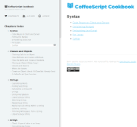 CoffeeScript Cookbook