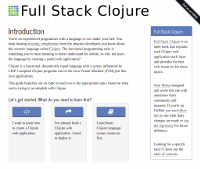 Full Stack Clojure