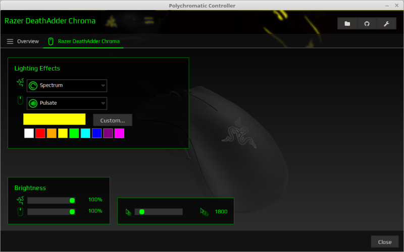 Polychromatic Controller