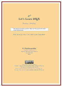 Let's Learn LaTeX