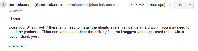 Beelink Technical Support