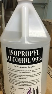 isopropyl alcohol gallon 99%