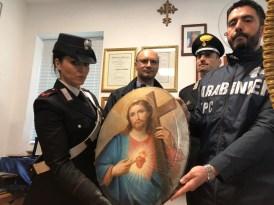SAN PIETRO - Il quadro rinvenuto dai Carabinieri (4)