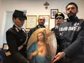 SAN PIETRO - Il quadro rinvenuto dai Carabinieri (5)