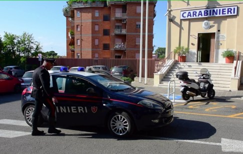 MONTEROTONDO - I controlli dei Carabinieri (1)