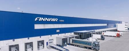 veduta Finnair cargo hub, foto Finnair