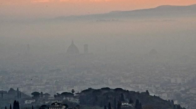 Nebbia a Firenze