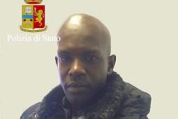Diaw Cheikh Tidiane (Foto Polizia di Stato)