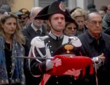 i funerali del maresciallo Antonio Taibi