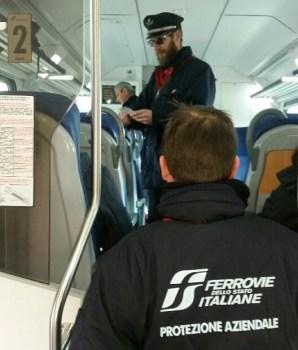 Controlli antievasione sui treni regionali in Toscana