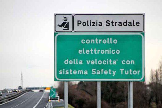 I tutor sulle autostrade sono in funzione dal 2005