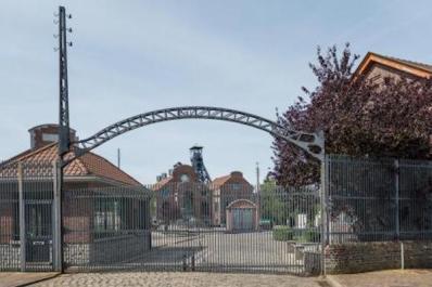 L'ingresso della vecchia miniera di Marcinelle