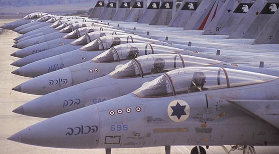 Caccia israeliani sempre pronti ad entrare in azione