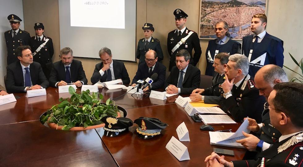 La conferenza stampa alla Procura della Repubblica di Firenze