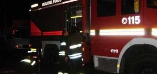 esplosione pompieri via celentano
