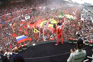 Charles Leclerc trionfa nel Gp d'Italia