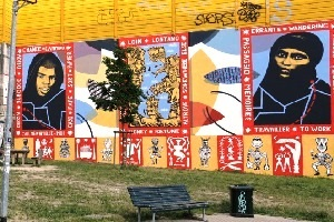 Costo Di Un Murales.Sardone 38 000 Euro Per Un Murales Pro Migranti