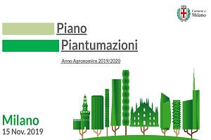 Oltre 20mila alberi in arrivo a Milano