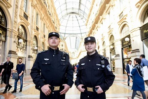 Poliziotti cinesi