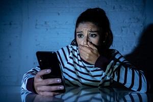 170 messaggi al giorno stalking