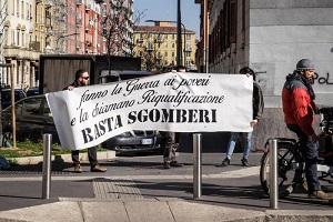 Corvetto, Sala contestato risponde ai manifestanti
