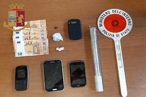 Un arresto per detenzione e spaccio in viale Forlanini