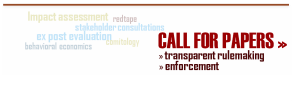 Call for papers on transparent rulemaking and enforcement
