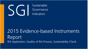 Sustainable governance indicators 2015: reform needs in 41 OECD Countries