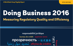 Doing Business 2016: the data on Italy