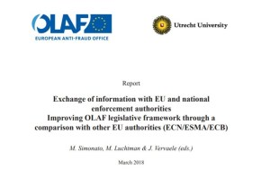Full report: Exchange of information with EU and national enforcement authorities