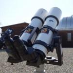 Binoscopio Vixen costruito da Astromeccanica