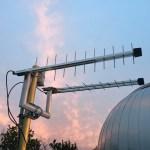 Antenna LTE per il collegamento internet e SQM