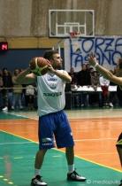Il playmaker Mauro Santoro, top scorer della partita per la Technoacque