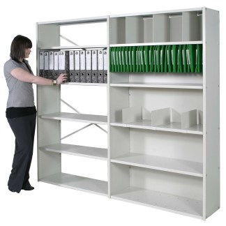 Delta Edge Shelving