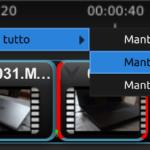 OpenShot 2.1 - Taglia video