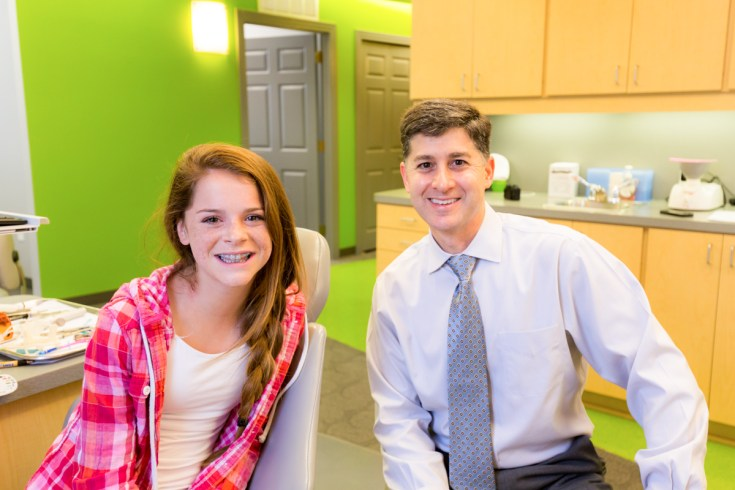 Dr. Ossi and patient 001 Ossi Orthodontics Jacksonville and St. Augustine Florida Orthodontist