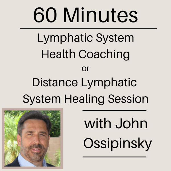 60 minute Lymphatic System Health Coaching