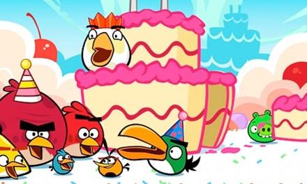 Angry Birds cumple 3 años y trae grandes novedades!