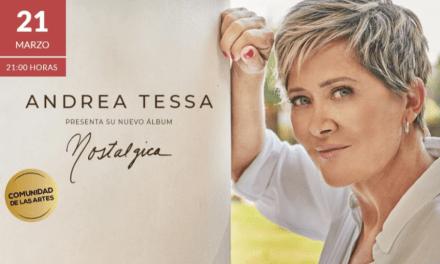 Andrea Tessa presentará su nuevo disco con concierto en el Teatro Nescafé