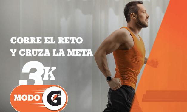 Gatorade® desafía a corredores a una carrera de 3K en casa
