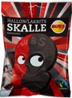 BUBS SKALLE HALLON LAKRITS 90G