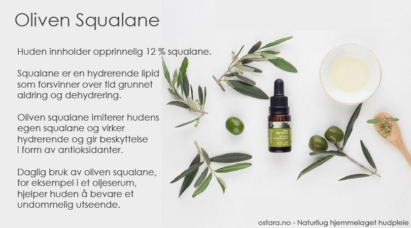 Squalane - den hemmelige ingrediensen