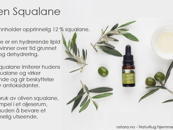 Squalane – den hemmelige ingrediensen