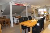 Fjärde våningen, fyllt med matbord. Östbergs möbler, Säng & Möbelhus, Borlänge