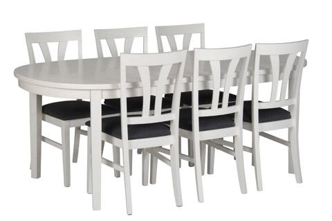 Inzel Matbord Ovalt - Östbergs Säng & Möbelhus : köksbord ovalt : Kök